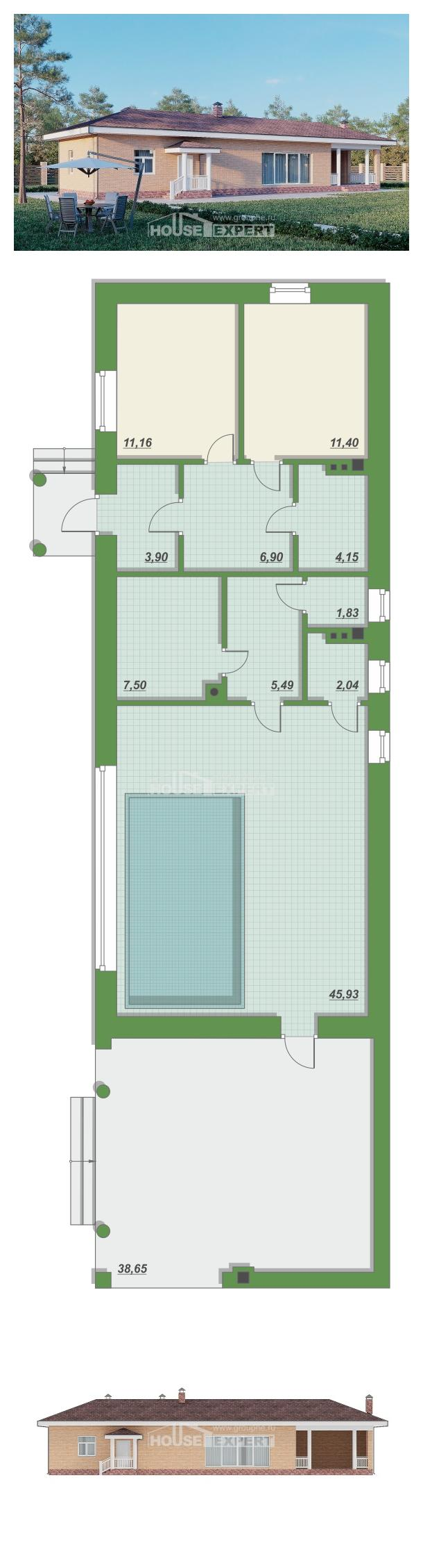 Проект дома 110-006-П | House Expert