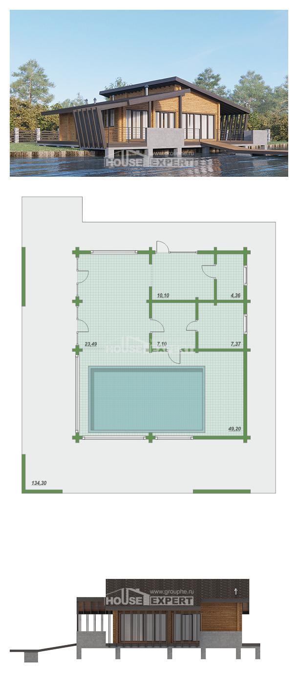 Проект дома 100-007-П | House Expert