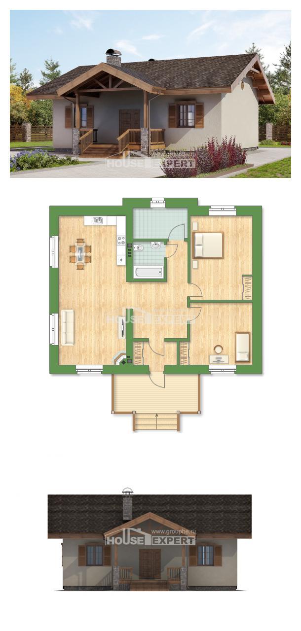 Проект дома 090-002-Л   House Expert