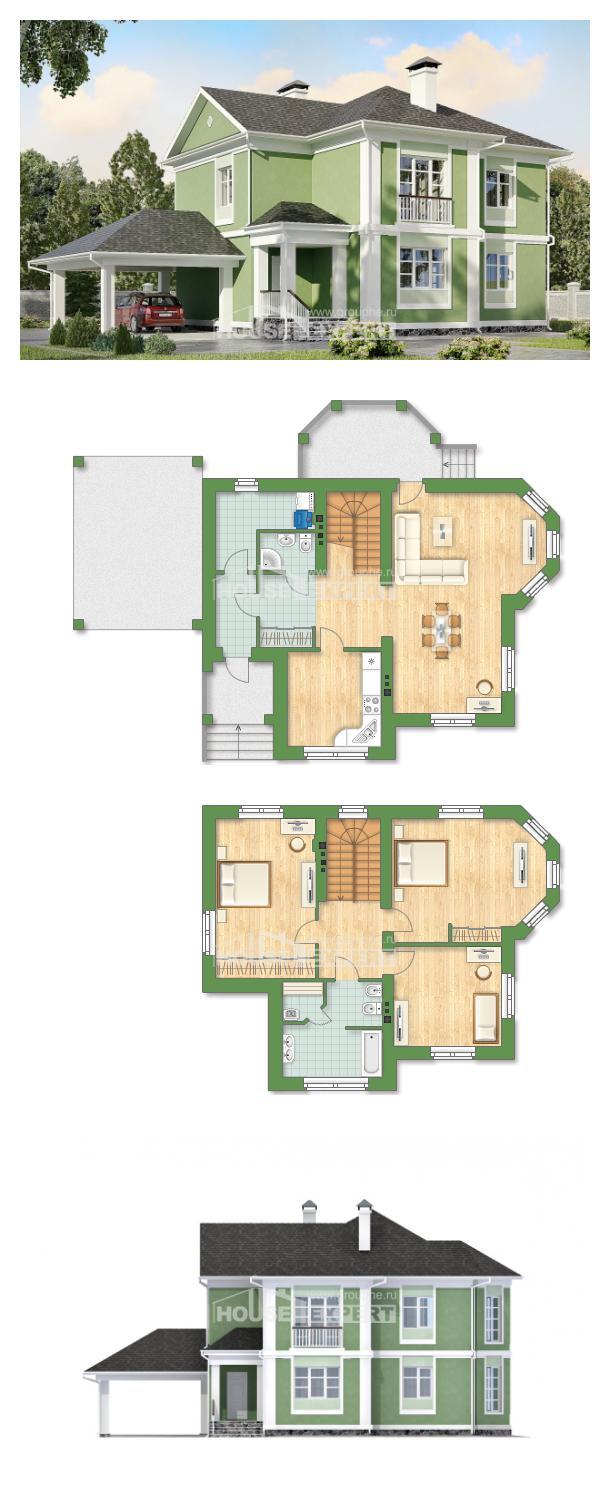 Проект дома 170-001-Л | House Expert