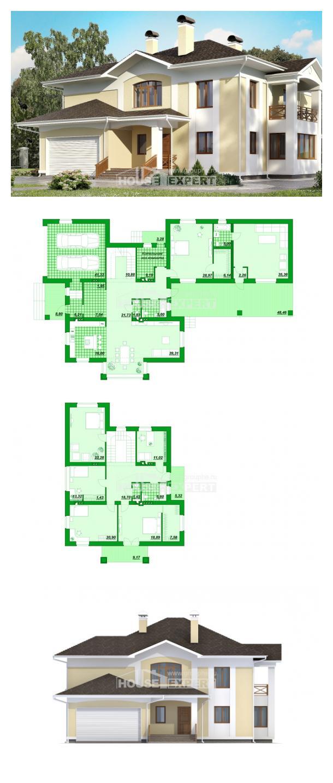 Проект дома 375-002-Л   House Expert