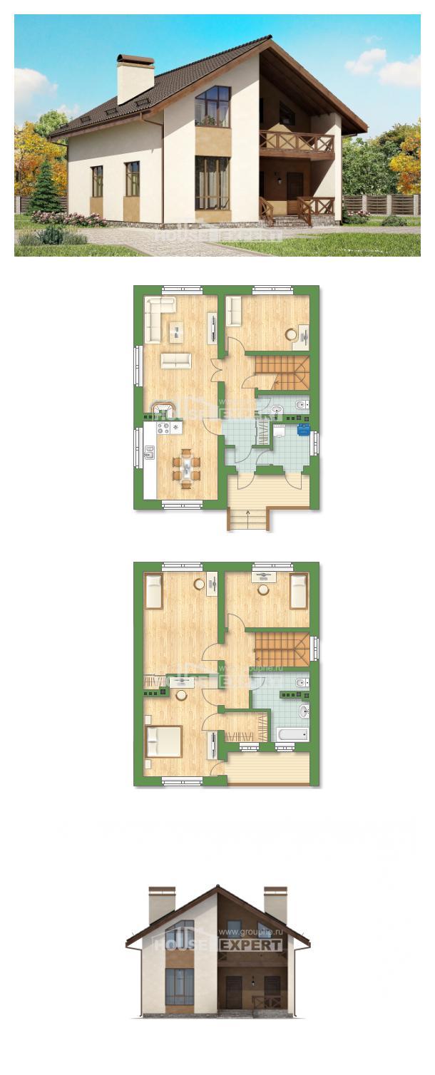 Проект дома 170-002-П   House Expert