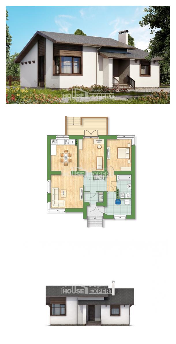 Проект дома 110-003-П   House Expert