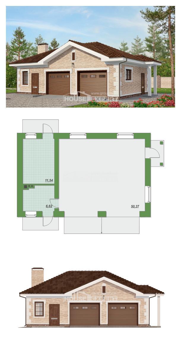 Проект дома 070-005-П   House Expert